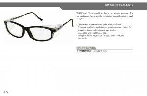 jual glasses safety prescription di Riau