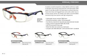 Jual glasses safety prsecription